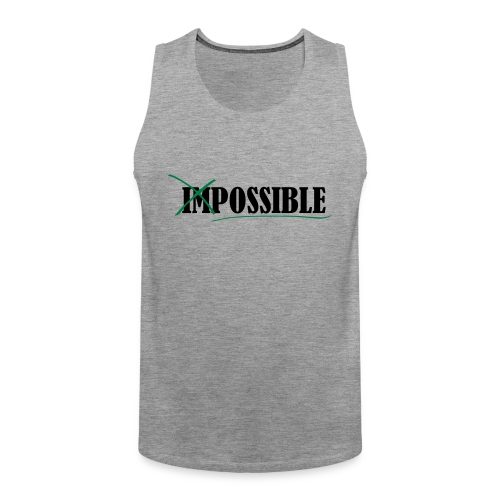 Im_Possible - Männer Premium Tank Top
