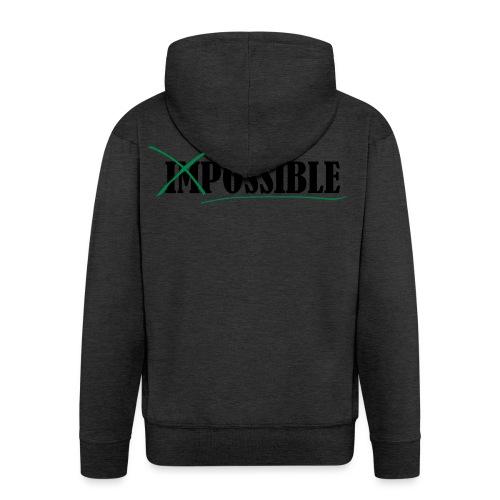 Im_Possible - Männer Premium Kapuzenjacke