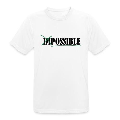 Im_Possible - Männer T-Shirt atmungsaktiv