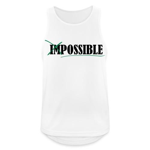 Im_Possible - Männer Tank Top atmungsaktiv