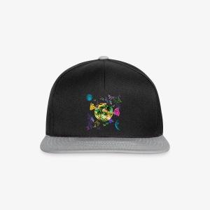 Little Fantasy World Butterflies Planet Galaxy T-Shirt - Snapback Cap