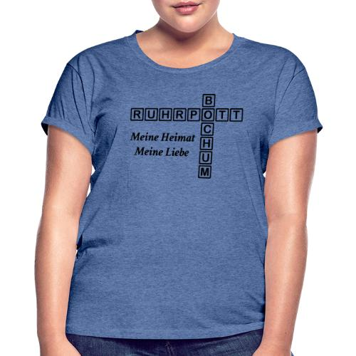 Ruhrpott Bochum Meine Heimat, meine Liebe - Slim T-Shirt - Frauen Oversize T-Shirt