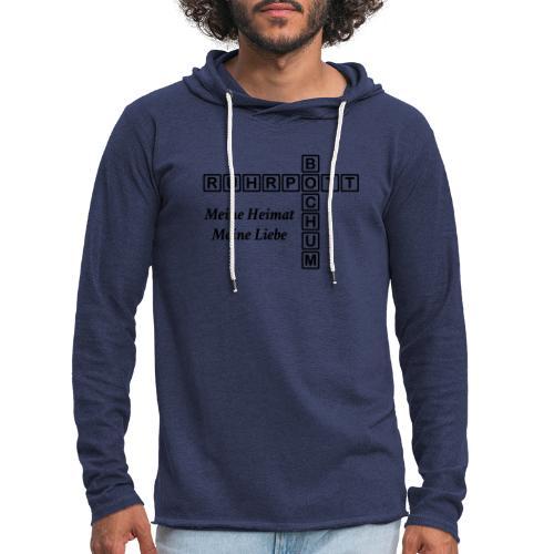 Ruhrpott Bochum Meine Heimat, meine Liebe - Slim T-Shirt - Leichtes Kapuzensweatshirt Unisex