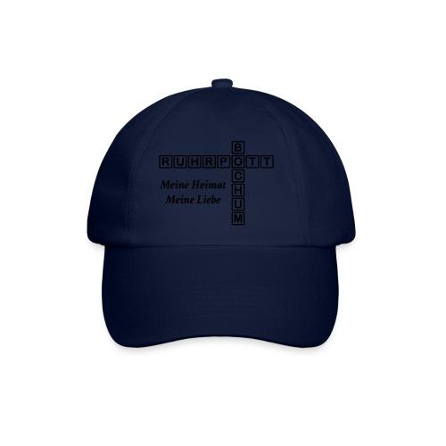 Ruhrpott Bochum Meine Heimat, meine Liebe - Slim T-Shirt - Baseballkappe