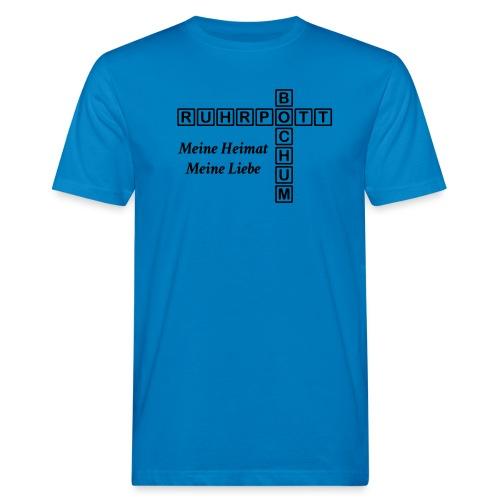 Ruhrpott Bochum Meine Heimat, meine Liebe - Slim T-Shirt - Männer Bio-T-Shirt