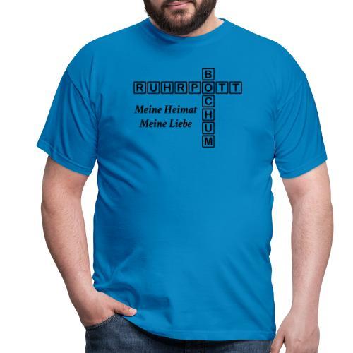 Ruhrpott Bochum Meine Heimat, meine Liebe - Slim T-Shirt - Männer T-Shirt