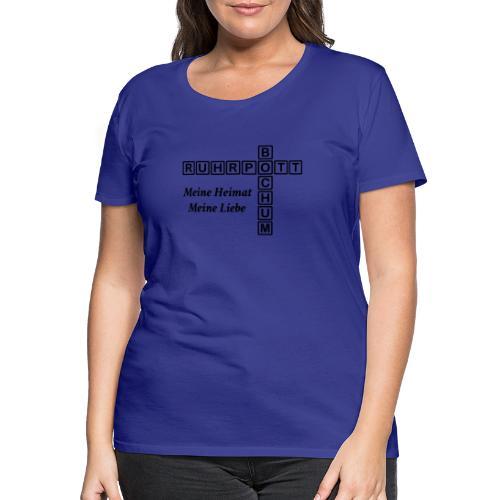 Ruhrpott Bochum Meine Heimat, meine Liebe - Slim T-Shirt - Frauen Premium T-Shirt