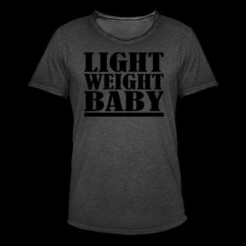 Light Weight Baby - Männer Vintage T-Shirt
