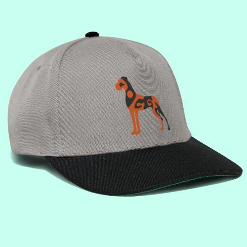 Snapback Cap - Doggenstatur,Doggensilhouette,Doggenshirt,Doggenhaus,Doggenfigur,Dogge