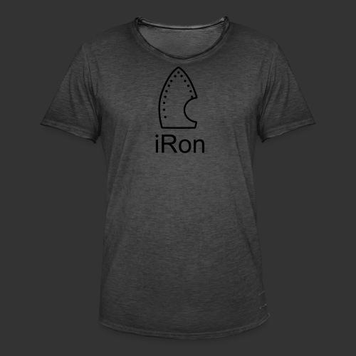 iRon - Männer Vintage T-Shirt