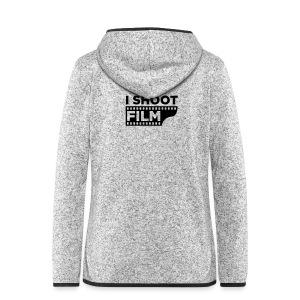 I SHOOT FILM - Frauen Kapuzen-Fleecejacke