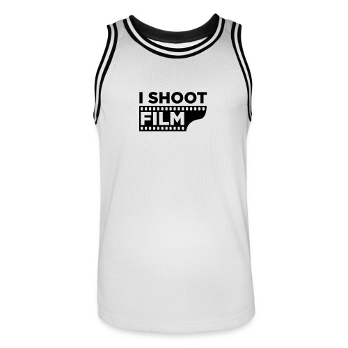 I SHOOT FILM - Männer Basketball-Trikot