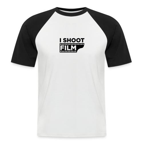 I SHOOT FILM - Männer Baseball-T-Shirt