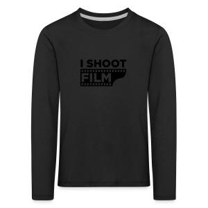 I SHOOT FILM - Kinder Premium Langarmshirt