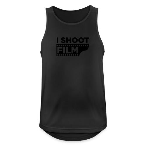 I SHOOT FILM - Männer Tank Top atmungsaktiv