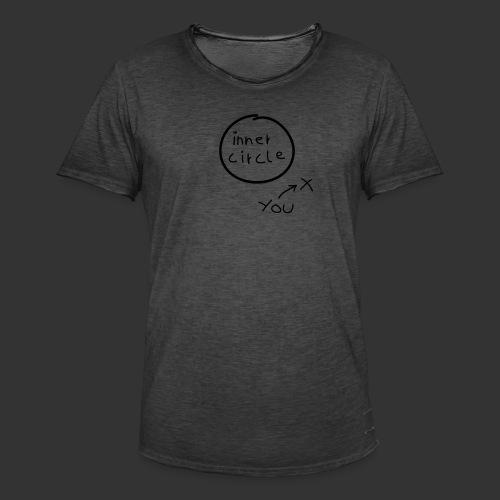 Inner Circle - Männer Vintage T-Shirt