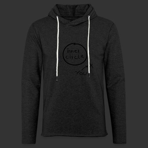 Inner Circle - Leichtes Kapuzensweatshirt Unisex