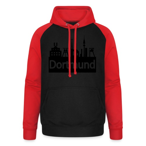 Dortmund Skyline - Shirt - Unisex Baseball Hoodie