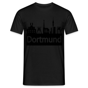 Dortmund Skyline - Shirt - Männer T-Shirt