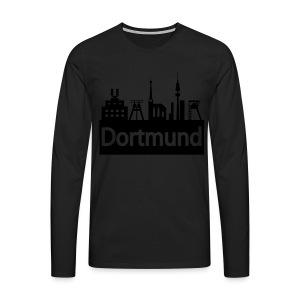 Dortmund Skyline - Shirt - Männer Premium Langarmshirt