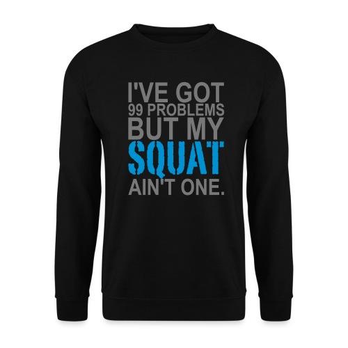 99 Squat Problems - Männer Pullover