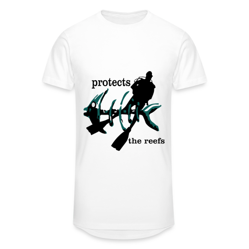 protects the reefs in the world - Männer Urban Longshirt