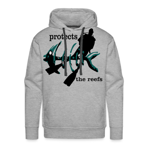 protects the reefs in the world - Männer Premium Hoodie