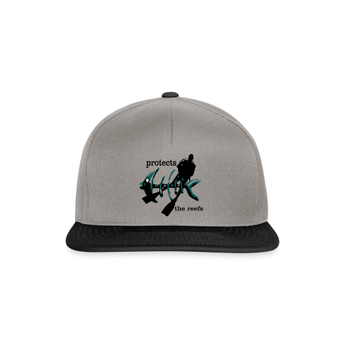protects the reefs in the world - Snapback Cap