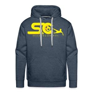 Skills & Control T-Shirt Slim Fit - Mannen Premium hoodie