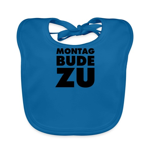 MONTAG BUDE ZU - Baby Bio-Lätzchen
