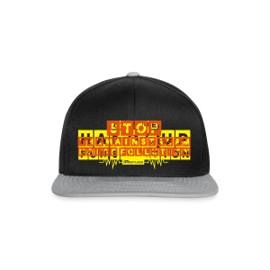 Happy Revolution Männer Slim Fit T-Shirt (Gelb-Orange) - Snapback Cap
