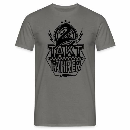 2-Takt-Fahrer / Zweitaktfahrer - Men's T-Shirt