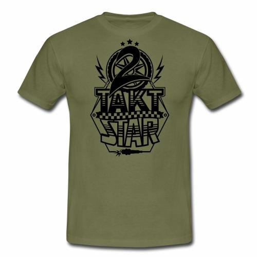 2-Takt-Star / Zweitakt-Star - Men's T-Shirt