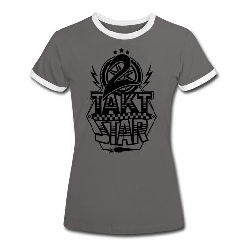 2-Takt-Star / Zweitakt-Star - Women's Ringer T-Shirt