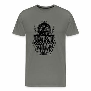 2-Takt-Star / Zweitakt-Star - Männer Premium T-Shirt