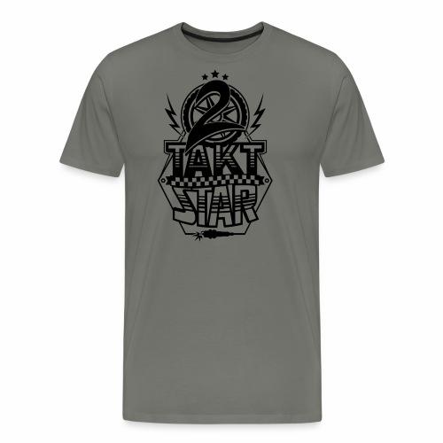 2-Takt-Star / Zweitakt-Star - Men's Premium T-Shirt