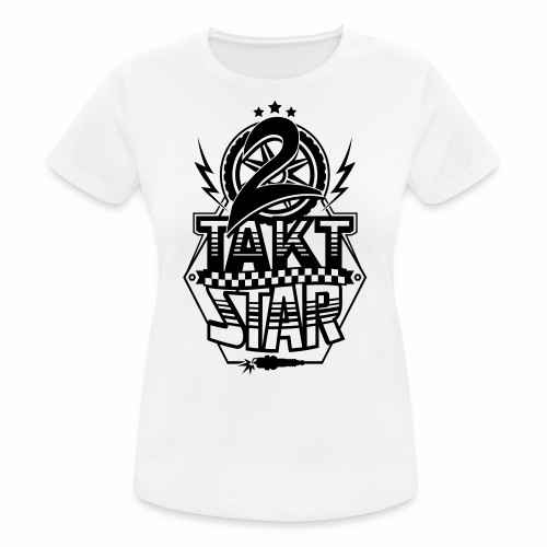 2-Takt-Star / Zweitakt-Star - Women's Breathable T-Shirt
