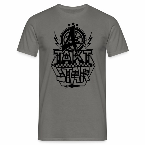 4-Takt-Star / Viertakt-Star - Men's T-Shirt