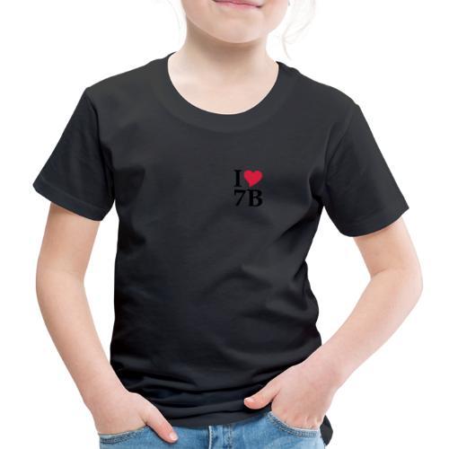 "Shirt ""I love 7B"" Siebenbürgen - Transylvania - Erdely - Ardeal - Transilvania - Romania - Rumänien - Kinder Premium T-Shirt"