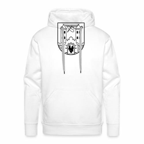 Suhl Wappen (schwarz) - Men's Premium Hoodie