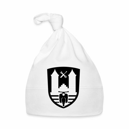 Mopedsport Wappen / Logo / Emblem (+ Dein Text) - Baby Cap