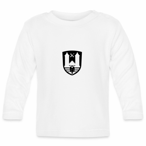 Mopedsport Wappen / Logo / Emblem (+ Dein Text) - Baby Long Sleeve T-Shirt