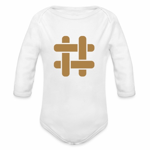 Briar T-Shirt (Male) - Organic Longsleeve Baby Bodysuit