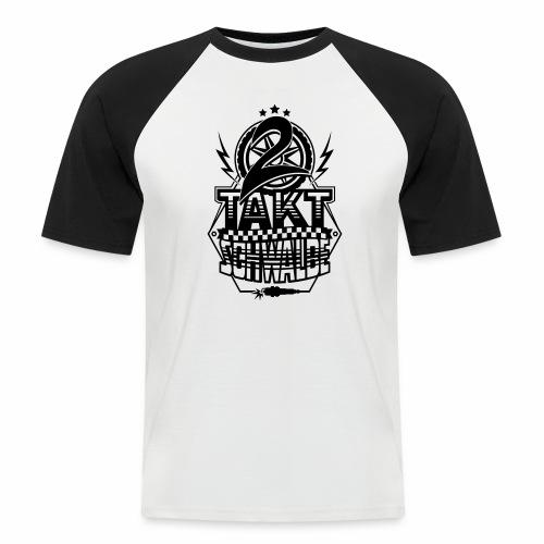 2-Takt-Schwalbe / Zweitaktschwalbe - Men's Baseball T-Shirt
