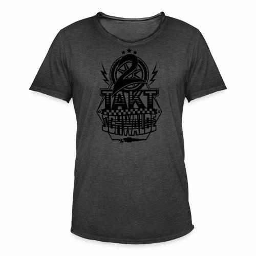 2-Takt-Schwalbe / Zweitaktschwalbe - Men's Vintage T-Shirt