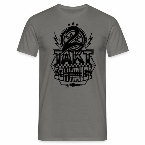 2-Takt-Schwalbe / Zweitaktschwalbe - Men's T-Shirt
