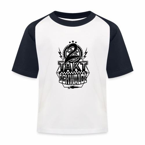 2-Takt-Schwalbe / Zweitaktschwalbe - Kids' Baseball T-Shirt