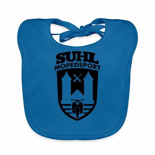 Suhl Mopedsport Schwalbe 2 Logo - Baby Organic Bib