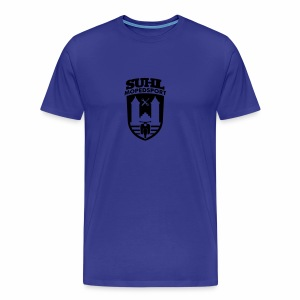 Suhl Mopedsport Schwalbe 2 Logo - Männer Premium T-Shirt