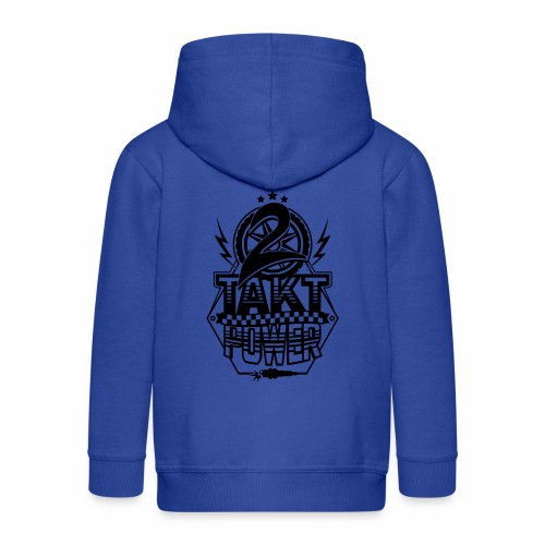 2-Takt-Power / Zweitakt Power - Kids' Premium Zip Hoodie